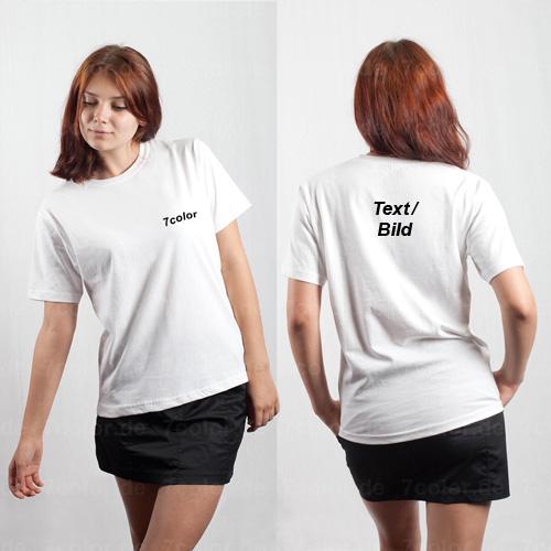 20 T-Shirts mit Druck