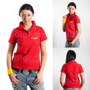 Polo-Shirts mit Druck