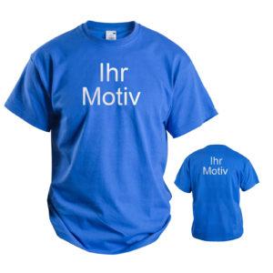100 T-Shirts mit Druck