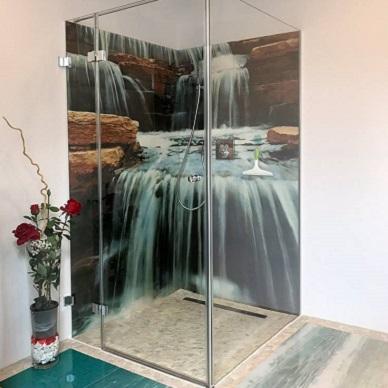 3D Wasserfall